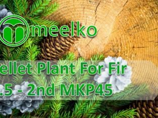Pellet Plant For Fir 1.5 – 2nd MKP45. Buy Now !