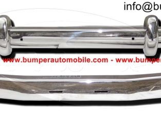 Saab 93 stainless steel bumper (1956-1959)