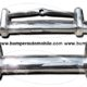 Volvo PV 444 front and rear bumper (1947-1958)