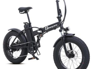 electric-bicycle-snowmobile