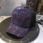 1PC Fashion Rhinestone Hat Accessories Hip-Hop