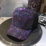 1PC Fashion Rhinestone Hat Accessories Hip-Hop