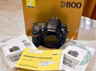 brand new nikon D800 camera at an affordable price