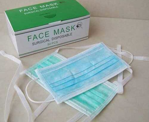 Surgical Face Masks available here in good stock