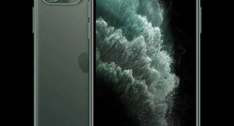 iPhone 11 Pro Max (Midnight Green, 64 GB, 4 GB RAM)
