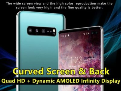 2019 Latest 6.5 Inch Dynamic AMOLED Screen Curved