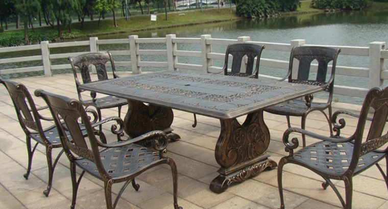7-piece-best-selling-cast-aluminum-table-and-chair