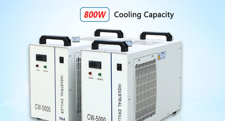Small water chiller system CW5000 s&a chiller