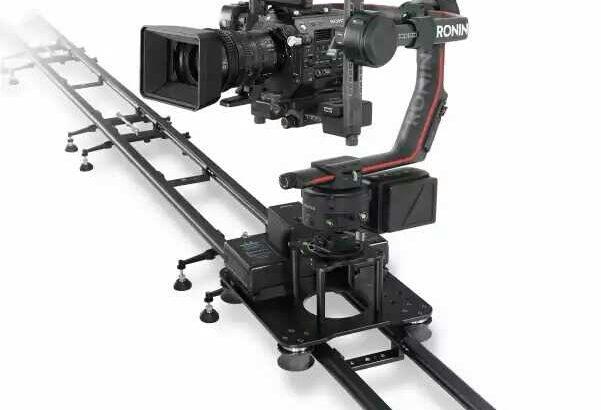 Professional photography Robot skyrail ceilingtrack compatible with 3 axis gimb