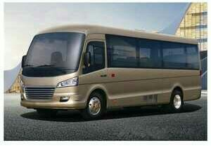 7.5 meter Luxury Mini Bus/Long Distance Mini Bus/Electric Tourism Mini Bus