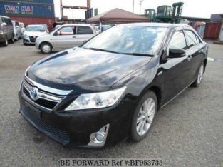 2012 TOYOTA CAMRY HYBRID HYBRID G DAA-AVV50 BF953735 A/C , TV CD and all
