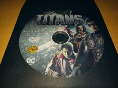 Titans The Complete First Season DVD!