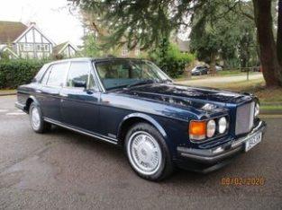 Bentley Eight INJ 4-Door blue 1992