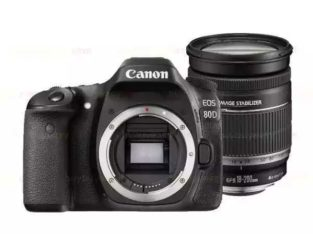 New Canon EOS 80D Camera Body
