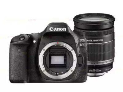 New Canon EOS 80D Camera Body