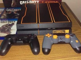 1 terabytes  Ps4 black ops 3 bundle
