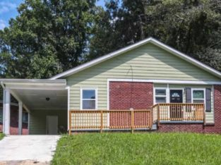 Available Now  Cute 3 bedroom 2 bath ranch features a large front walkway.