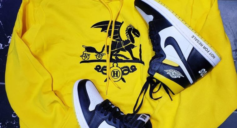 nike sneakers and jacket
