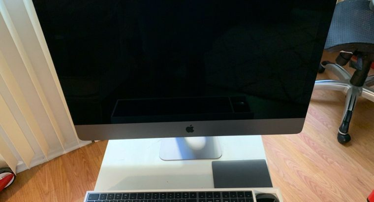 2017 Apple iMac PRO 27″ 5k i7 SSD computer