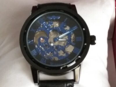 FINAL SALE! Transparent mechanical watch