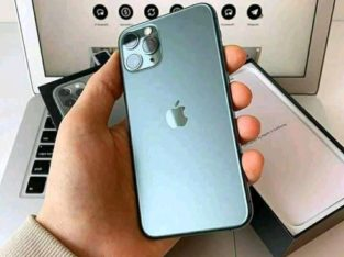 iPhone 11 pro max – Midnight Green)