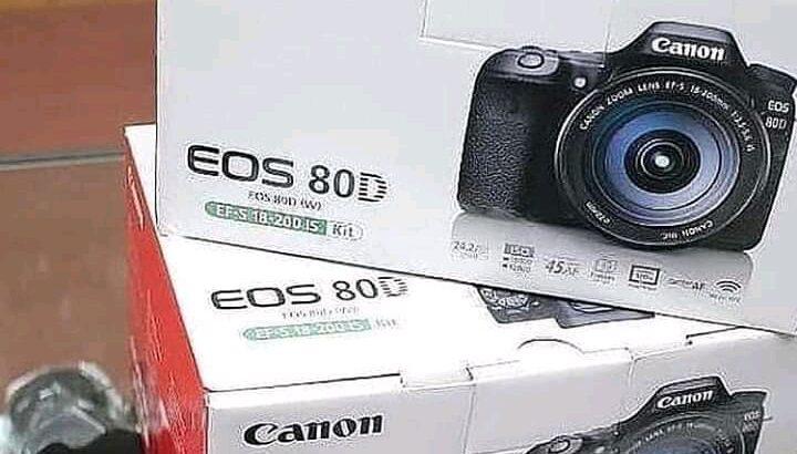 Canon EOS 80D (black)