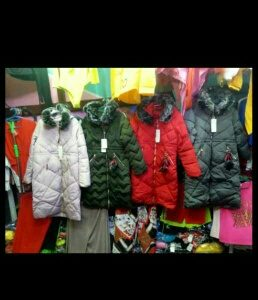 WINTER JACKETS IN ALL SIZES AND COLORS