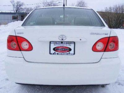 2007 Toyota corolla LE