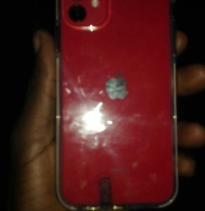 Red iphone11 64gb