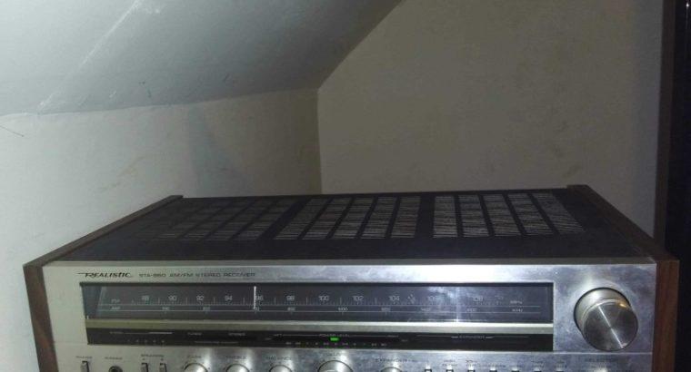 1984 sta 860 realistic receiver