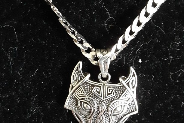 Sterling Silver Mens Necklace