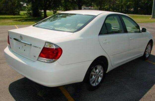 Toyota Corolla le 2005 model