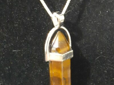 Tiger Eye Crystal Necklace