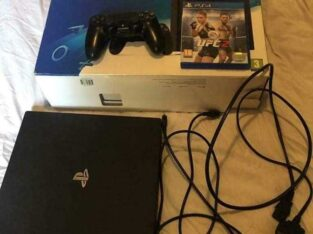 Playstation 4 downloaded playstation 4 with 6 games & 2 controllers & hdmi AC/AV cables