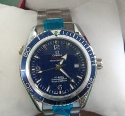 FREE SHIIPING! New gray Omega planet watch