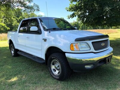 2002 Ford F-150 XLT Super Crew Cab 4-Door