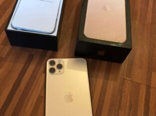 Apple iphone 11 pro-max 512gb gold……..contact