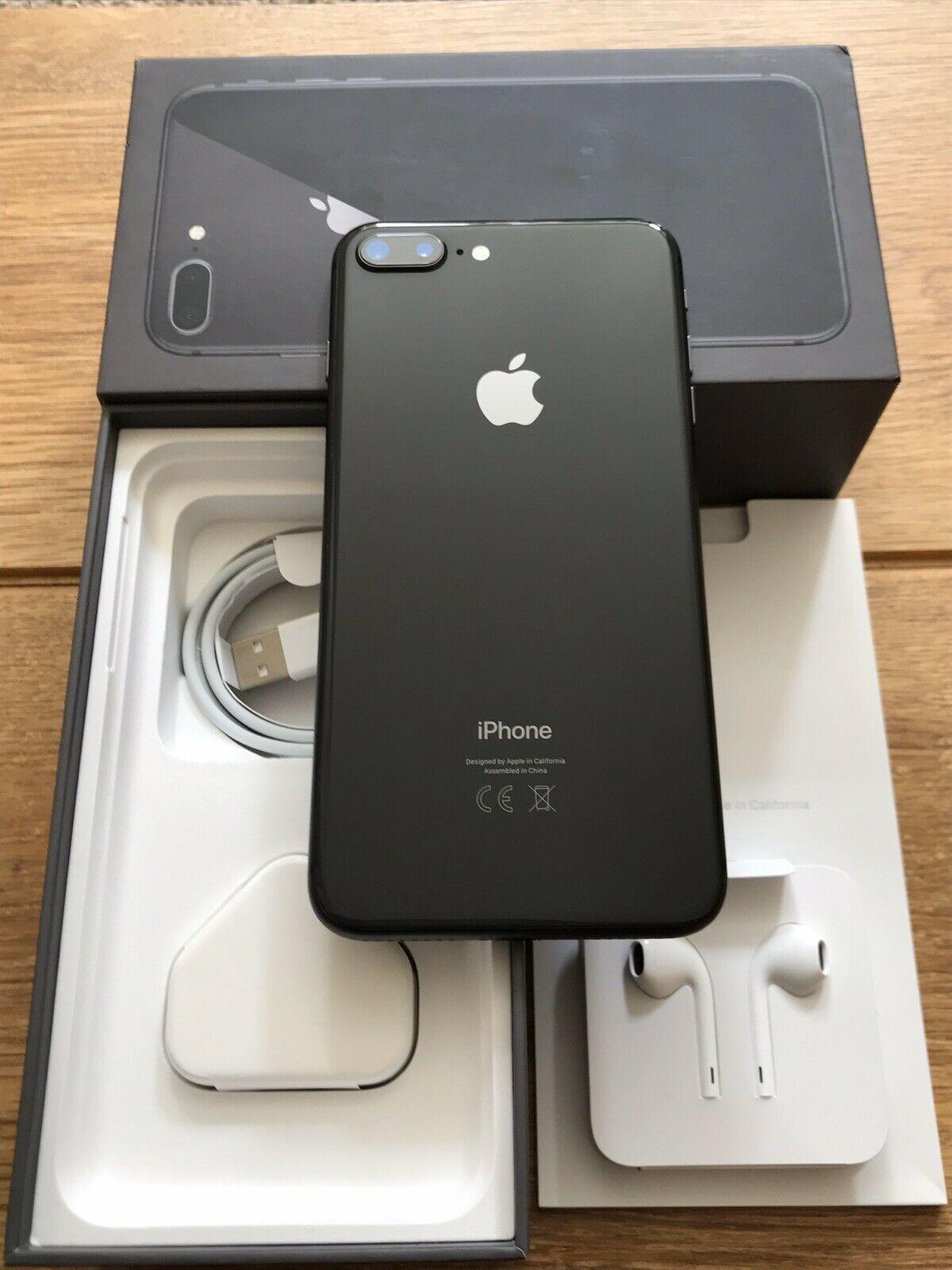 Apple iPhone 8 PLUS - 64GB Space grey UNLOCKED - HollySale ...