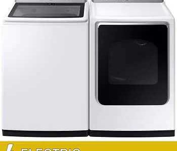 Electric washers and dryers