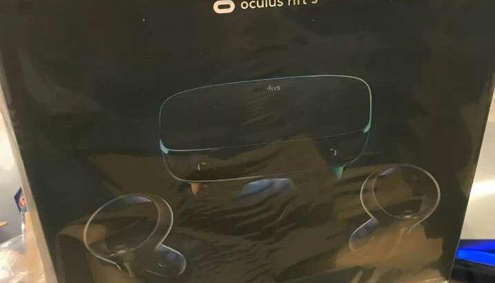 Oculus Rift S PC-Powered VR Gaming Headset – Black