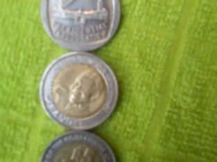 Selling Mandela r5 coin