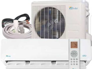 9000 BTU Ductless Mini Split Air Conditioner and Heat Pump 19 SEER 110 VOLT