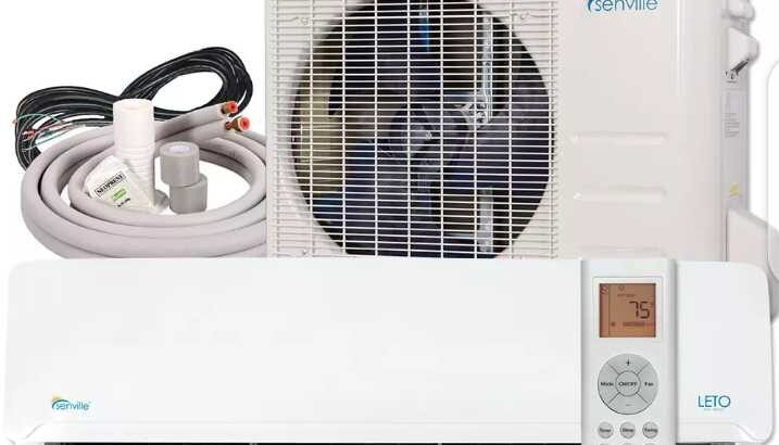 9000 BTU Ductless Mini Split Air Conditioner and Heat Pump 19 SEER 110 VOLT