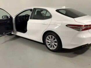 Toyota white Camry