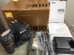 Nikon Camera D8'10