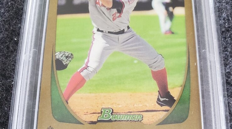 2011 Mike Trout Gold #101