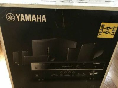 Yamaha YHT 595OU 5.1 home theatre system NEW!