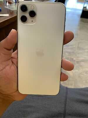 Apple iPhone 11 Pro Max – 256GB – Silver (Unlocked) A2161 (CDMA + GSM)