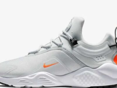 Nike Air Huarache City Move AO3172-003 Platinum White Unisex Sportswear Shoe