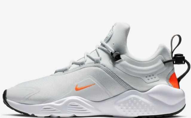 Nike Air Huarache City Move AO3172-003 Platinum White Unisex Sportswear Shoe